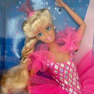 Barbie Twirling Ballerina new vintage pink doll